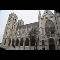 Brussel (Bruxelles - Brüssel), Kathedraal Sint Michiel en Sint Goedele (Hauptorgel), Außenansicht