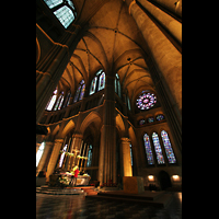 Reims, Cathédrale Notre-Dame (Hauptorgel), Vierung und Querhaus