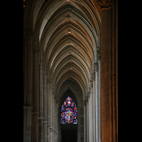 Reims, Cathédrale Notre-Dame (Hauptorgel), Seitenschiff