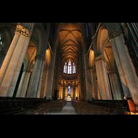 Reims, Cathédrale Notre-Dame (Hauptorgel), Chorraum