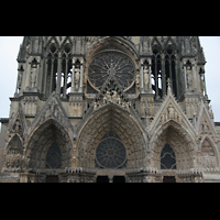 Reims, Cathédrale Notre-Dame (Hauptorgel), Portalbögen