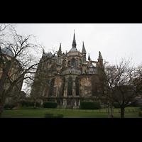 Reims, Cathédrale Notre-Dame (Hauptorgel), Chor von außen