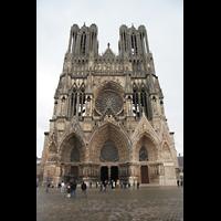 Reims, Cathédrale Notre-Dame (Hauptorgel), Fassade