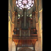 Reims, Cathédrale Notre-Dame (Hauptorgel), Hauptorgel
