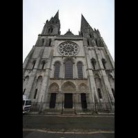 Chartres, Cathédrale Notre-Dame, Fassade