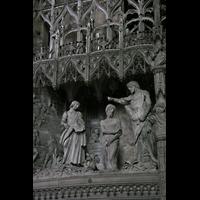 Chartres, Cathédrale Notre-Dame, Die Taufe Jesu