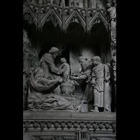 Chartres, Cathédrale Notre-Dame, Figuren im Chorumgang
