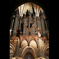 Chartres, Cathédrale Notre-Dame, Orgelprospekt