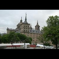San Lorenzo de El Escorial, Basílica del Real Monasterio, Außenansicht