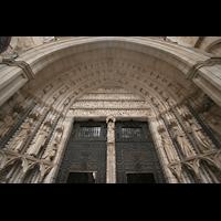 Toledo, Catedral (Órgano del Emperador), Hauptportal