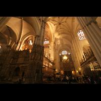 Toledo, Catedral (Órgano del Emperador), Querhaus mit Querhausorgel