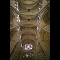 Toledo, Catedral (Órgano del Emperador), Hauptschiffgewölbe