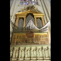 Toledo, Catedral (Órgano del Emperador), Epistelorgel