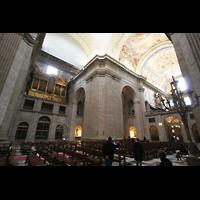 San Lorenzo de El Escorial, Basílica del Real Monasterio, Hauptorgel und Evangelienorgel