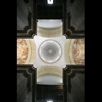San Lorenzo de El Escorial, Basílica del Real Monasterio, Blick in die Vierungskuppel