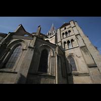 Lausanne, Cathédrale, Chor und Vierungsturm
