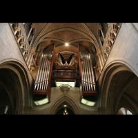 Lausanne, Cathédrale, Orgelempore