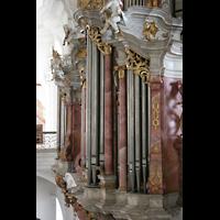 Weingarten, Basilika St. Martin - Große Orgel, Rückpositiv