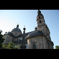 Fulda, Dom St. Salvator (Hochchororgel), Seitenansicht
