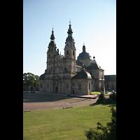 Fulda, Dom St. Salvator (Hochchororgel), Außenansicht