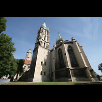 Naumburg, Dom, Westchor mit Westtürmen