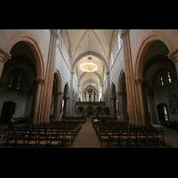 Naumburg, Dom, Innenraum / Hauptschiff in Richtung Ostchor