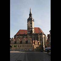 Naumburg, Stadtkirche St. Wenzel, Gesamtansicht von außen