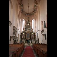 Naumburg, Stadtkirche St. Wenzel, Altar und Chorraum