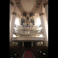 Naumburg, Stadtkirche St. Wenzel, Orgelempore