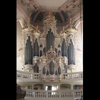 Naumburg, Stadtkirche St. Wenzel, Hildebrandt-Orgel
