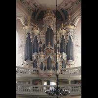 Naumburg, Stadtkirche St. Wenzel, Orgelprospekt