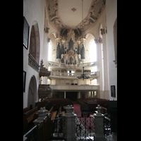 Naumburg, Stadtkirche St. Wenzel, Blick vom Chor zur Orgel