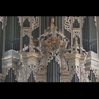 Naumburg, Stadtkirche St. Wenzel, Prospekt-Detail