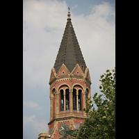 Essen, Kreuzeskirche, Turm