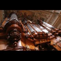 Berlin (Mitte), Dom, Tauf- und Traukapelle, Prospekt der großen Orgel