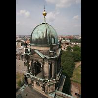 Berlin (Mitte), Dom, Tauf- und Traukapelle, Einer der Türme