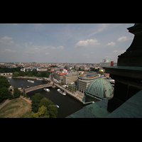 Berlin (Mitte), Dom, Tauf- und Traukapelle, Blick auf die Spree