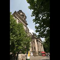 Berlin (Mitte), Dom, Tauf- und Traukapelle, Seitliche Fassade