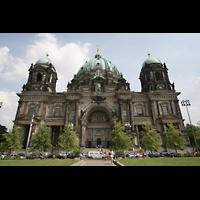 Berlin (Mitte), Dom, Tauf- und Traukapelle, Fassade und Hauptportal