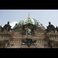 Berlin (Mitte), Dom, Tauf- und Traukapelle, Segnender Christus und Kuppel