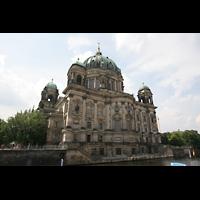 Berlin (Mitte), Dom, Tauf- und Traukapelle, Rückwärtige Fassade von der Spree aus