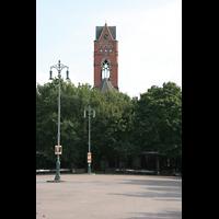 Berlin (Schöneberg), St. Matthias, Winterfeldtplatz mit Kirchturm