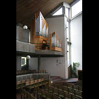 Berlin-Reinickendorf, Kirche am Seggeluchbecken, Orgelempore