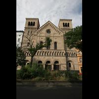 Berlin (Wedding), St. Joseph, Fassade von der Müllerstraße aus
