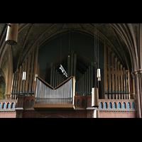 Berlin (Schöneberg), Apostel-Paulus-Kirche, Orgel von unten