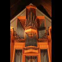 Berlin (Zehlendorf), Jesus-Christus-Kirche Dahlem, Oberwerk mit Spanischen Trompeten