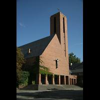 Berlin (Zehlendorf), Jesus-Christus-Kirche Dahlem, Außenansicht