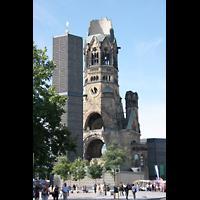 Berlin (Charlottenburg), Kaiser-Wilhelm-Gedächtnis-Kirche, Breitscheidplatz