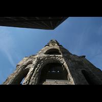 Berlin (Charlottenburg), Kaiser-Wilhelm-Gedächtnis-Kirche, Blick in den Himmel