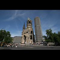 Berlin (Charlottenburg), Kaiser-Wilhelm-Gedächtnis-Kirche, Gesamtansicht